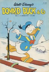 Cover Thumbnail for Donald Duck & Co (Hjemmet / Egmont, 1948 series) #2/1971