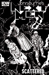 Cover Thumbnail for John Byrne's Next Men (IDW, 2010 series) #2 [Sketch Cover]