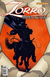 Cover for Zorro Rides Again (Dynamite Entertainment, 2011 series) #1
