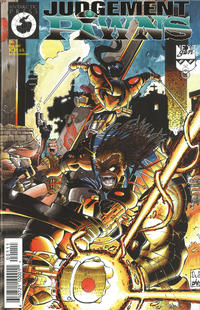 Cover Thumbnail for Judgement Pawns (Antarctic Press, 1997 series) #1