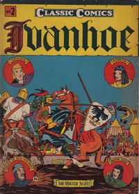 Cover Thumbnail for Classic Comics (Gilberton, 1941 series) #2 - Ivanhoe [HRN 10]