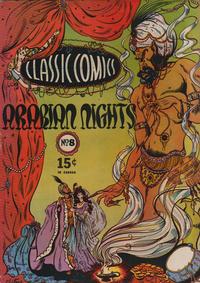Cover Thumbnail for Classic Comics (Gilberton, 1941 series) #8 - Arabian Nights [HRN 17]