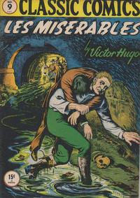 Cover Thumbnail for Classic Comics (Gilberton, 1941 series) #9 - Les Miserables [HRN 14]