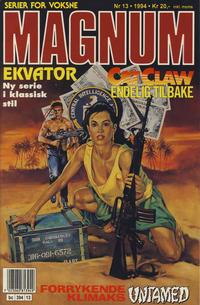 Cover Thumbnail for Magnum (Bladkompaniet / Schibsted, 1988 series) #13/1994
