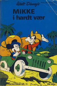 Cover Thumbnail for Donald Pocket (Hjemmet / Egmont, 1968 series) #11 - Mikke i hardt vær [1. opplag]
