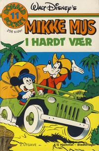 Cover Thumbnail for Donald Pocket (Hjemmet / Egmont, 1968 series) #11 - Mikke i hardt vær [2. opplag]