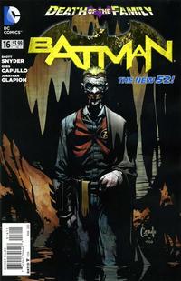 Cover Thumbnail for Batman (DC, 2011 series) #16
