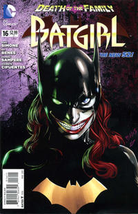 Cover Thumbnail for Batgirl (DC, 2011 series) #16