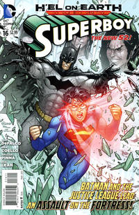 Cover Thumbnail for Superboy (DC, 2011 series) #16