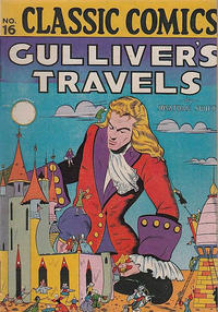 Cover Thumbnail for Classic Comics (Gilberton, 1941 series) #16 - Gulliver's Travels [HRN 22]