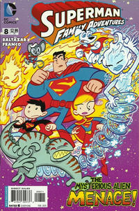 Cover for Superman Family Adventures (DC, 2012 series) #8 [Direct Sales]