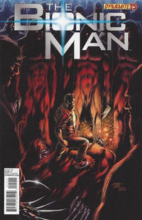 Cover Thumbnail for Bionic Man (Dynamite Entertainment, 2011 series) #15 [Cover B - Edgar Tadeo]