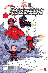 Cover Thumbnail for Thunderbolts (Marvel, 2013 series) #1 [Skottie Young]
