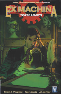 Cover for Ex Machina (DC, 2005 series) #10 - Term Limits