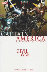 Cover Thumbnail for Civil War: Captain America (Marvel, 2007 series)