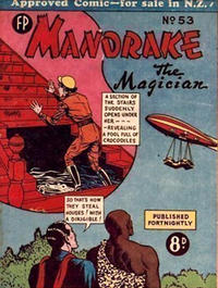 Cover for Mandrake the Magician (Feature Productions, 1950 ? series) #53