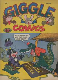 Cover Thumbnail for Giggle Comics (American Comics Group, 1943 series) #7