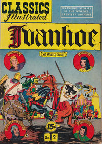 Cover Thumbnail for Classics Illustrated (Gilberton, 1947 series) #2 [HRN 78] - Ivanhoe