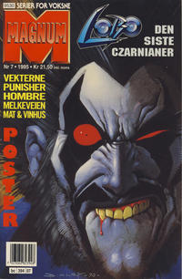 Cover Thumbnail for Magnum (Bladkompaniet / Schibsted, 1988 series) #7/1995