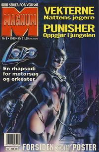 Cover for Magnum (Bladkompaniet, 1988 series) #8/1995