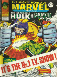 Cover Thumbnail for The Mighty World of Marvel (Marvel UK, 1972 series) #318