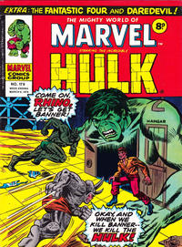 Cover Thumbnail for The Mighty World of Marvel (Marvel UK, 1972 series) #179