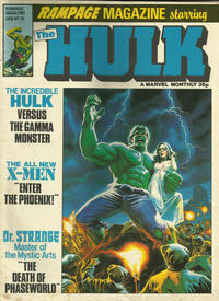 Cover Thumbnail for Rampage Monthly (Marvel UK, 1978 series) #19