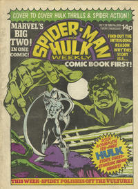 Cover Thumbnail for Spider-Man and Hulk Weekly (Marvel UK, 1980 series) #399