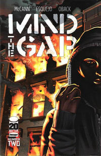 Cover Thumbnail for Mind the Gap (Image, 2012 series) #2