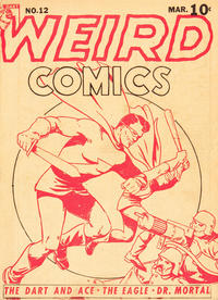 Cover Thumbnail for Weird Comics (Anglo-American Publishing Company Limited, 1941 series) #12