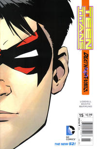 Cover Thumbnail for Teen Titans (DC, 2011 series) #15 [Newsstand]
