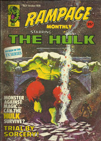Cover Thumbnail for Rampage Monthly (Marvel UK, 1978 series) #4