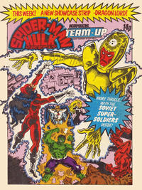 Cover Thumbnail for Spider-Man and Hulk Weekly (Marvel UK, 1980 series) #424