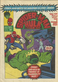 Cover Thumbnail for Spider-Man and Hulk Weekly (Marvel UK, 1980 series) #431