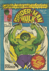 Cover Thumbnail for Spider-Man and Hulk Weekly (Marvel UK, 1980 series) #437