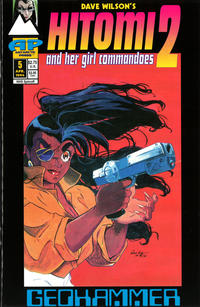 Cover Thumbnail for Hitomi II (Antarctic Press, 1993 series) #5
