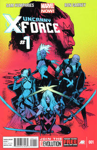 Cover Thumbnail for Uncanny X-Force (Marvel, 2013 series) #1