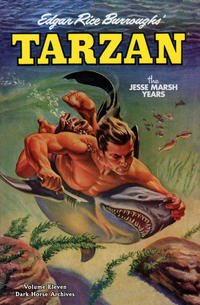Cover Thumbnail for Edgar Rice Burroughs' Tarzan: The Jesse Marsh Years (Dark Horse, 2009 series) #11
