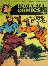 Cover Thumbnail for Indrajal Comics (Bennet, Coleman & Co., 1964 series) #v22#26 [569]