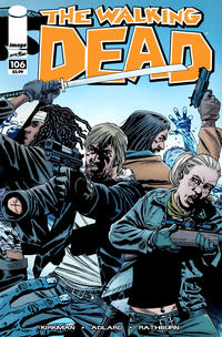Cover Thumbnail for The Walking Dead (Image, 2003 series) #106 [Wraparound Cover]