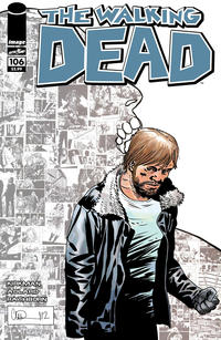 Cover Thumbnail for The Walking Dead (Image, 2003 series) #106 [Variant Cover by Charlie Adlard]
