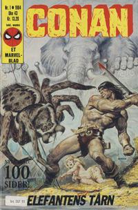 Cover Thumbnail for Conan (Semic, 1984 series) #1/1984