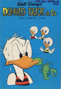 Cover Thumbnail for Donald Duck & Co (Hjemmet / Egmont, 1948 series) #32/1971
