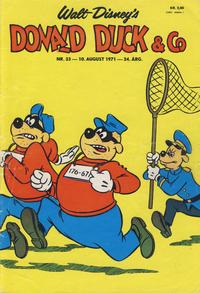 Cover Thumbnail for Donald Duck & Co (Hjemmet / Egmont, 1948 series) #33/1971