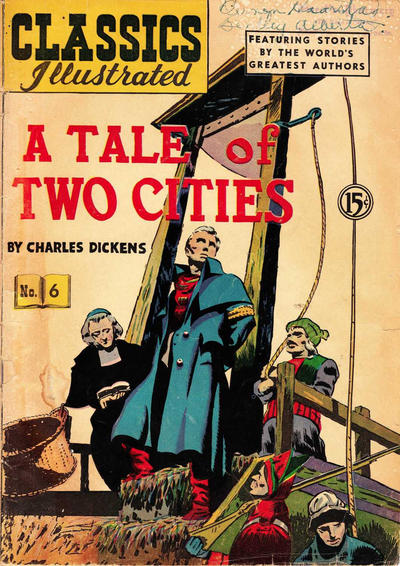 Cover for Classics Illustrated (Gilberton, 1948 series) #6