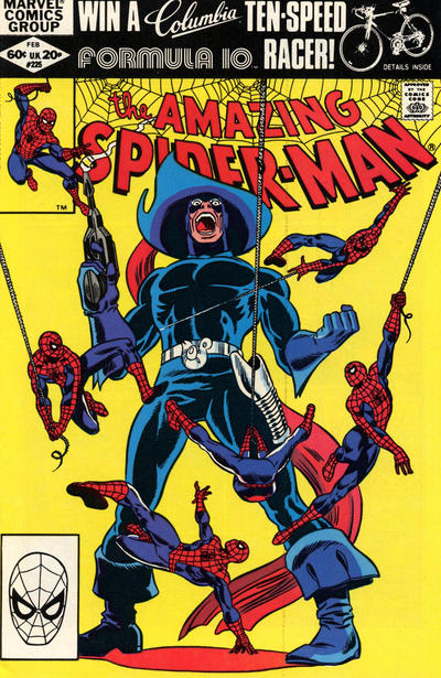 Cover for The Amazing Spider-Man (Marvel, 1963 series) #225 [Direct Edition]