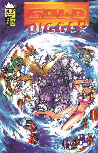 Cover for Gold Digger (Antarctic Press, 1992 series) #2