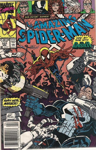 Cover for The Amazing Spider-Man (Marvel, 1963 series) #331 [Newsstand]