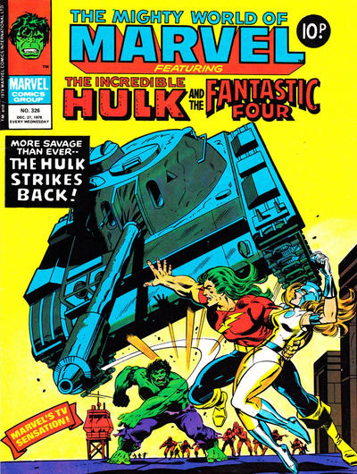 Cover for The Mighty World of Marvel (Marvel UK, 1972 series) #326