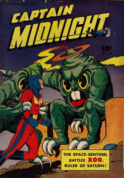 Cover for Captain Midnight (Export Publishing, 1948 series) #64